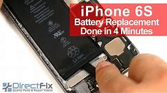 How To: iPhone 6S Battery Replacement done in 2 minutes