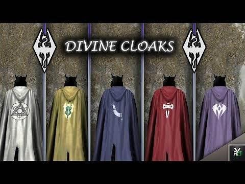 DIVINE CLOAKS: Clothing Mod!!- Xbox Modded Skyrim Mod Showcase