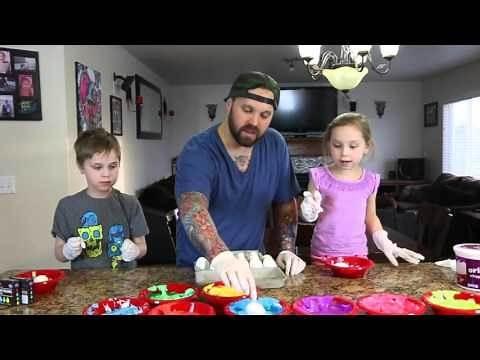 Whipped Cream Easter Eggs