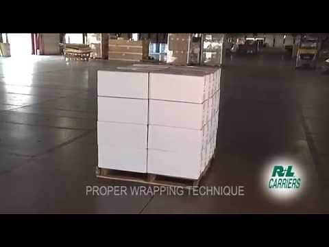 How to Shrink Wrap a Freight Pallet