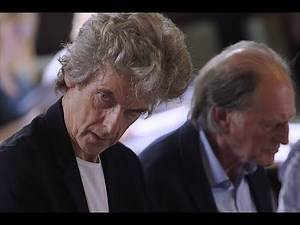 Behind the Scenes at Peter Capaldi's Final Doctor Who Read-Through