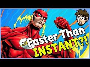 Is The Flash FASTER Than Instant Teleportation? (Ft. Imaginary Axis)