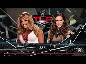 WWE 2K16_Trish Stratus vs Stephanie McMahon_TLC bikini match/7 news