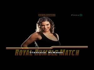 WWE Wrestlemania X8 - 20 Man Royal Rumble