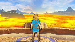 Breath of the Wild, but the floor is lava