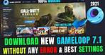 How to Download Gameloop in PC ✅   Install gameloop 7.1 on pc   gameloop download for pc   2021