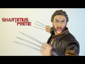 Marvel Legends Logan with Jacket X-Men Origins Wolverine Fox Films 20th Hasbro Action Figure Review