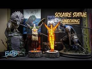 Dark Souls Solaire Jolly Combo statues by First4Figures Unboxing & Review