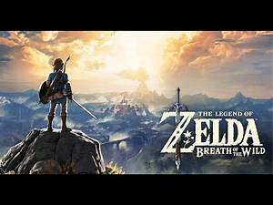 Breaking the GLITCHED WORLD of Hyrule in Zelda Breath of the Wild DLC amiibo