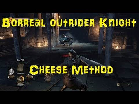 Undead Settlement - Boreal Outrider Knight Cheese - Dark Souls 3