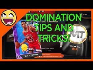 NBA 2K16 Domination Mode Tips/Tricks - How to 3 Star Every Game!