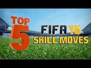 TOP 5 SKILL MOVES IN FIFA 16!!