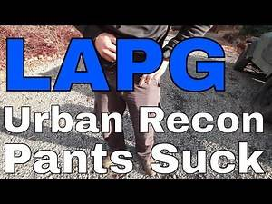 LA Police Gear Urban Recon Pant - Falling Apart for No Reason