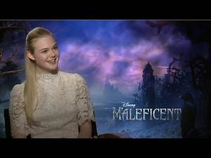 Elle Fanning - Maleficent Interview HD