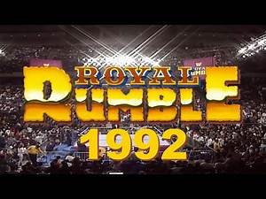 WWE Royal Rumble 1992 Retro Review