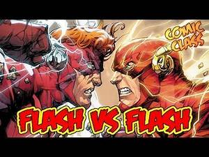 Flash Vs Flash! - Comic Class