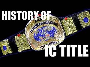 History of the NLW Intercontinental Championship (Stop Motion) (HD)