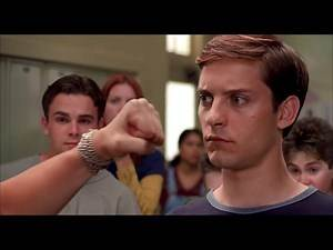 Peter Parker vs Flash Thompson - briga na escola (DUBLADO PT-BR)
