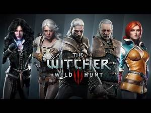 """iClone Characters Free Pack - """"The Witcher 3"""". (Part 4 - Main Characters 2)"""