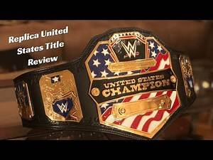 WWE United States Title Replica Belt Review