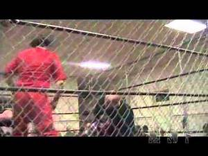Doomsday Cage Match - Mikado Defends Against Tha Sycho Supastar and Pitt - Ground Zero '11