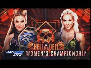 Hell In A Cell 2017: Charlotte vs natalya card match