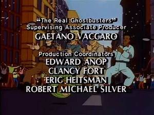 The Real Ghostbusters Credits (1988) *Best Quality