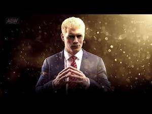 "Cody Rhodes 1st AEW Theme Song - ""Kingdom by Downstait"" with Arena Effects"