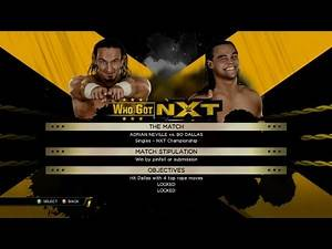 WWE 2K15 - Who Got NXT - Adrian Neville - Neville vs Bo Dallas 2