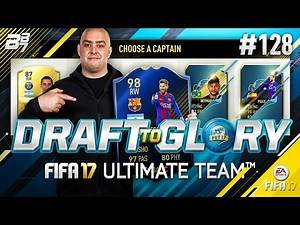 DRAFT TO GLORY! AVERAGE PACKS BUT GOOD PLAYERS! #128   FIFA 17 ULTIMATE TEAM