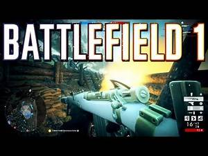 Battlefield 1: Medic MVP on the Worst Map Ever! (PS4 Pro Multiplayer Gameplay)