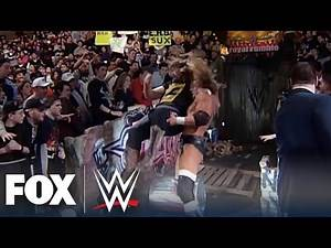 Triple H & Mick Foley reminisce on legendary Royal Rumble street fight   WWE BACKSTAGE   WWE ON FOX