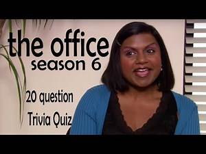 Season 6 of | THE OFFICE | trivia quiz - 20 Questions about Dunder Mifflin {ROAD TRIpVIA- ep:208]