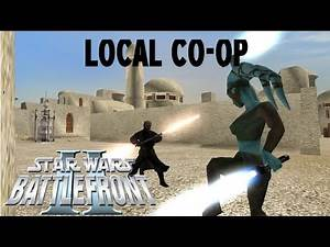 Y-Axis Co-Op! | Star Wars: Battlefront II Gameplay (PS2) | Mos Eisley | Assault