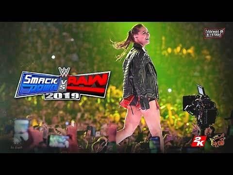 WWE Smackdown Vs. Raw 2020   SVR 2020   Concept/ Notion   PS4/XB1 #WWE2K20