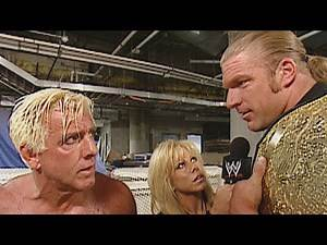Triple H is enraged when Rico upsets Ric Flair: Raw, Sept. 16, 2002