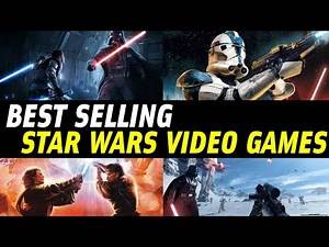 Top 5: Best Selling Star Wars Video Games EVER