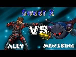Sweet X: Ally (Snake) vs Mew2King (Metaknight) Winners Finals