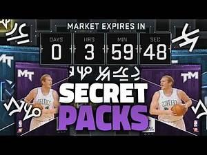 INSANE SECRET NBA 2K16 BLACK MARKET PACKS!!!