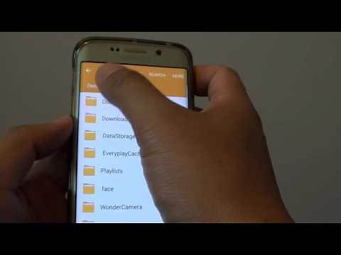 Samsung Galaxy S6 Edge: How to Copy / Move Files in File Manager