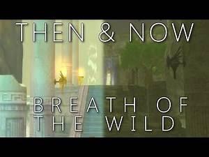 Then & Now BOTW - Skyward Sword Locations