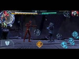 Injustice 2 mobile multiverse armor supergirl vs boss captain cold raid 6 1.4m damage
