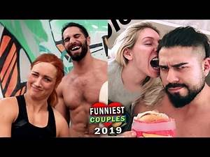 10 Funniest WWE Couples - Seth Rollins & Becky Lynch, Charlotte Flair & Andrade