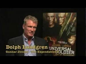 Dolph Lundgren talks about THE EXPENDABLES 3 (Interview)