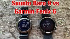 Suunto Baro 9 vs Garmin Fenix 6 Review for CrossFit/HIIT Training FitGearHunter.com