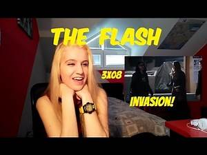 The Flash 3x08 Invasion! | Reaction Invasion Crossover