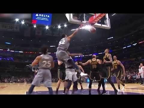 Minnesota Timberwolves vs Los Angeles Lakers Full Game Highlights April 6 2017 18 NBA Season