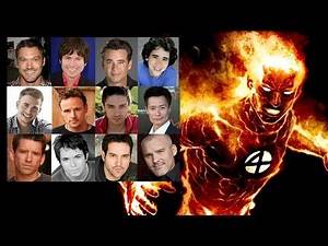 Comparing The Voices - Human Torch