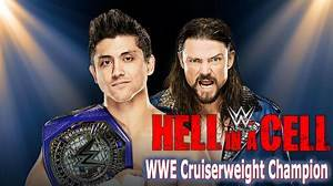 TJ Perkins (c) vs. Brian Kendrick WWE 2K17 HELL IN A CELL WWE Cruiserweight Championship Match HD Gameplay