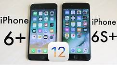 iPHONE 6 PLUS Vs iPHONE 6S PLUS On iOS 12! (Speed Comparison) (Review)